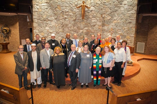 """Union County Interfaith Coordinating Council's """"Day of Prayer"""" in 2017."""