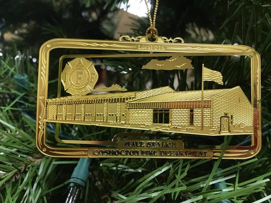 An ornament depicting the Hale Building named for late Capt. Wilmer Hale is now on sale through the local firefighter's union.