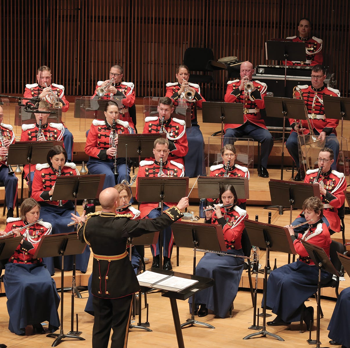 'President's Own' Marine Corps Band to play at Urbandale High School