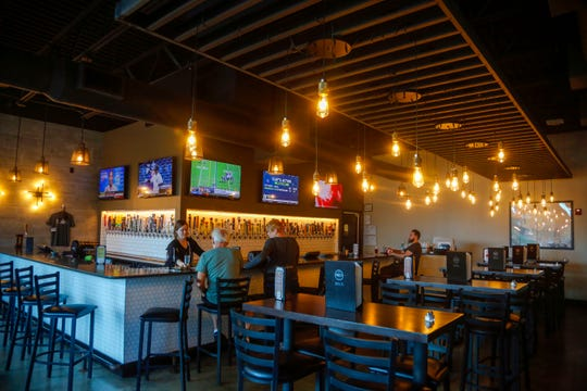 Beer styles shares an open floor plan with Salt of the Hearth Wednesday, Oct. 3, 2018.