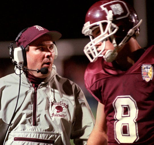Former Dowling coach Matt Dillon won consecutive championships at the school.
