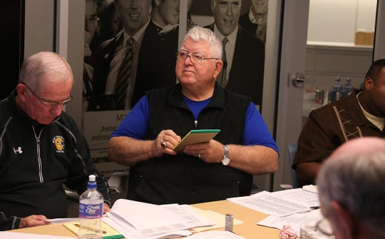 Former coaches Ken Winkler (left) and Jerry Staton are members of the Register's 50 greatest coaches.