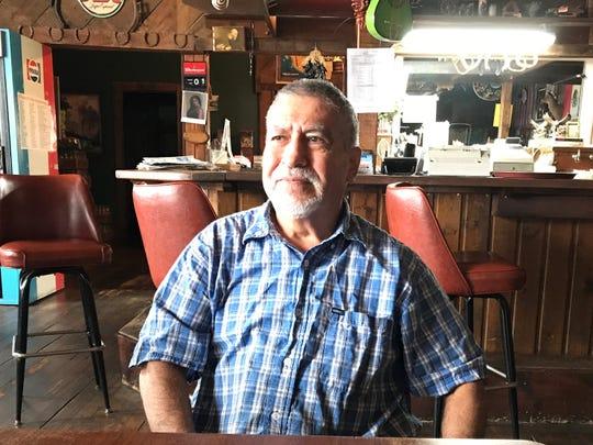 Owner Ignacio Romero in his Sibley restaurant, El Tio Nacho's