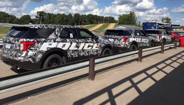 Ford Police Interceptor is the fastest law enforcement vehicle