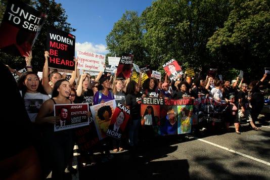 Kavanaugh Protest