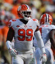Clemson defensive end Clelin Ferrell could provide immediate help for the Detroit Lions next season.