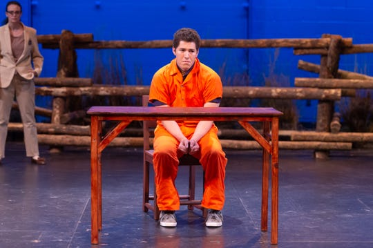 """The Colorado State University School of Music Theatre and Dance recently performed """"The Laramie Project,"""" written by Moisés Kaufman and guest directed by Charlie Oates."""