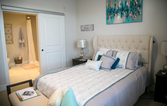 In the memory care unit at Amavida, residents live in suites, and their care, meals and housekeeping services are included in the monthly rent.