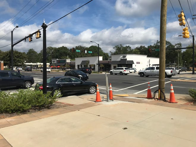 A reader said a crossing signal on Augusta Road has been non-operational since February and wants to know why it hasn't been fixed.