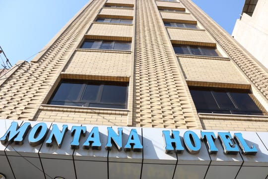 The Montana Hotel in Erbil, the capital of Iraqi Kurdistan, caught the attention of Sam Sweeney as he traveled and worked in the Middle East.