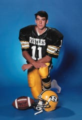 Davis Almanza was a multi-sport athlete at C.M. Russell High. He starred in football and was named to the Montana East-West Shrine Game.