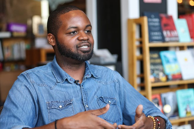 """Ezekiel Walker talks about his experience with homelessness that led to his book of prose and poems, """"Seventy Moons."""""""