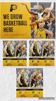 Some Indiana Pacers season tickets contained a mistake.