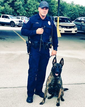 Knoxville Police Department has welcomed a new K-9 officer, Mod.