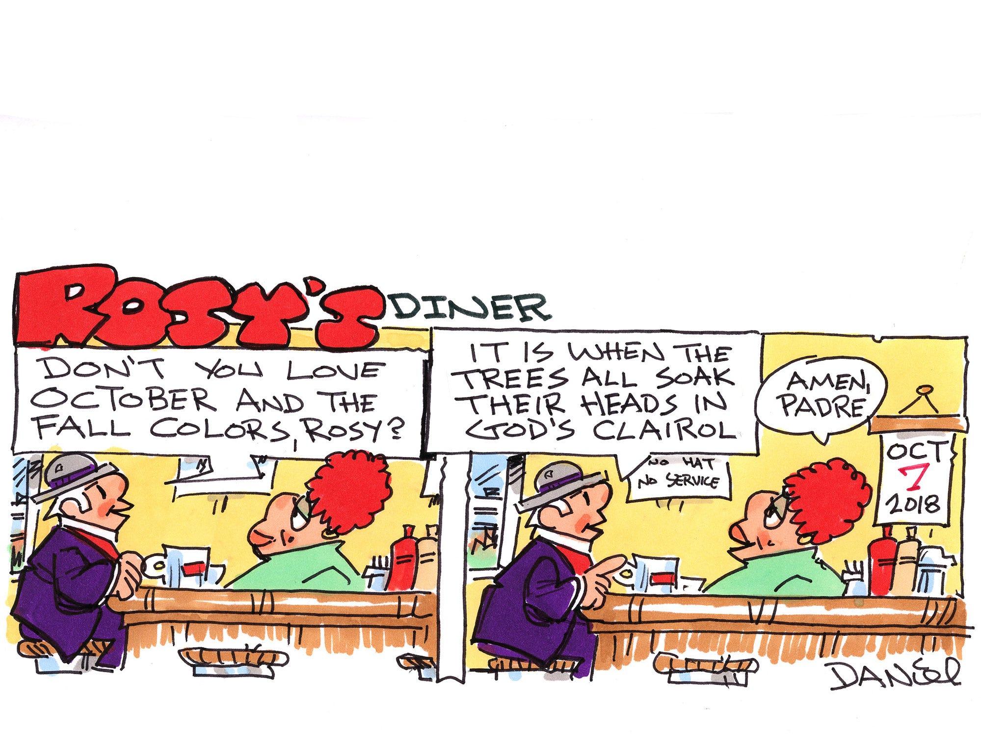 Charlie Daniel cartoon for Sunday, Oct. 7, 2018