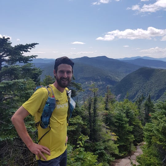 Belgian dentist Karel Sabbe, broke the world speed record hiking the Appalachian Trail.