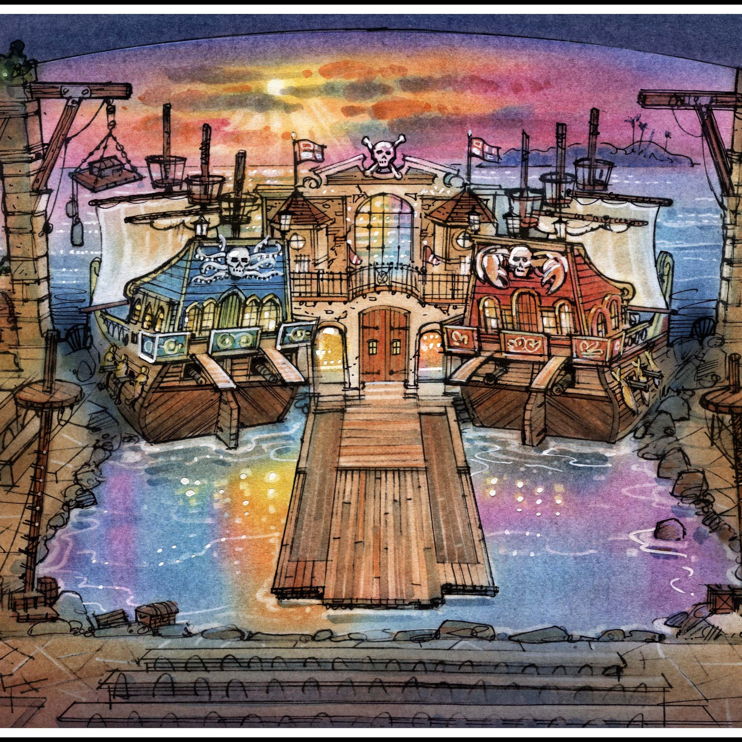 Dolly Parton's Pirates Voyage in Pigeon Forge is coming together, taking reservations