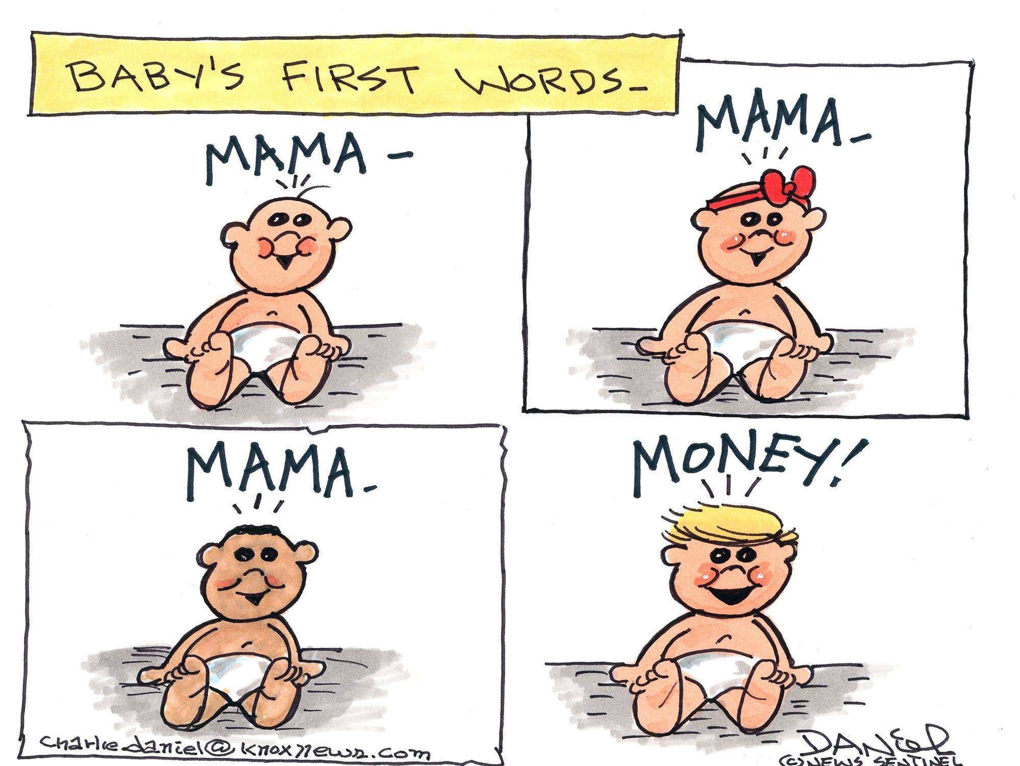 Charlie Daniel editorial cartoon for Friday, Oct. 5, 2018.