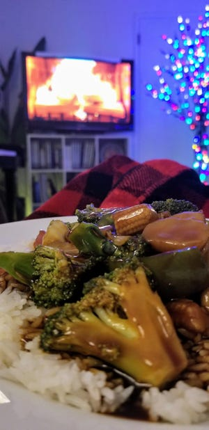 Mixed Veggies with Brown Rice