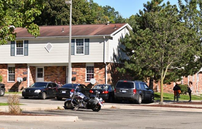 Hildebrandt Park community apartments on Lansing's westside.