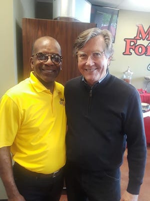 Rev. Roger Brown and Phil Trenary