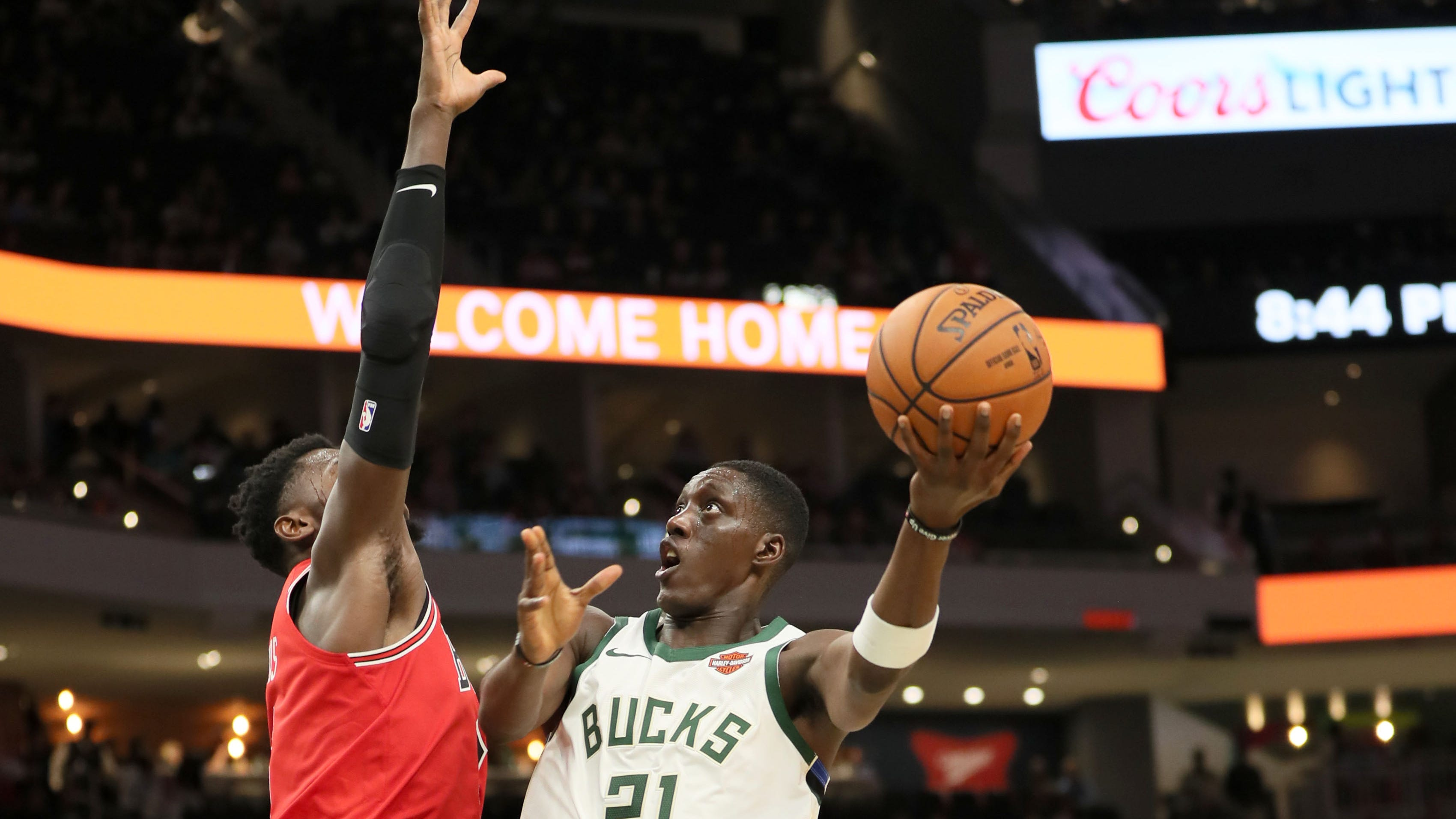 Who plays what role when the Bucks' begin the regular season?