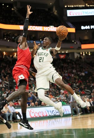 Tony Snell was a regular starter the past two seasons but slides into a bench role this year.