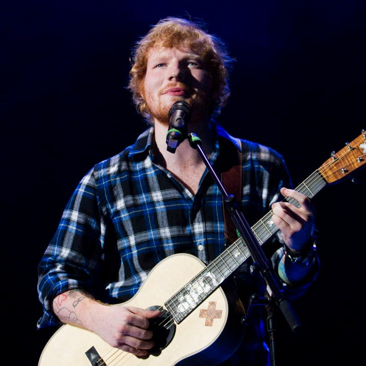 Depending on Brewers' playoff run, Ed Sheeran's Miller Park show could move to November