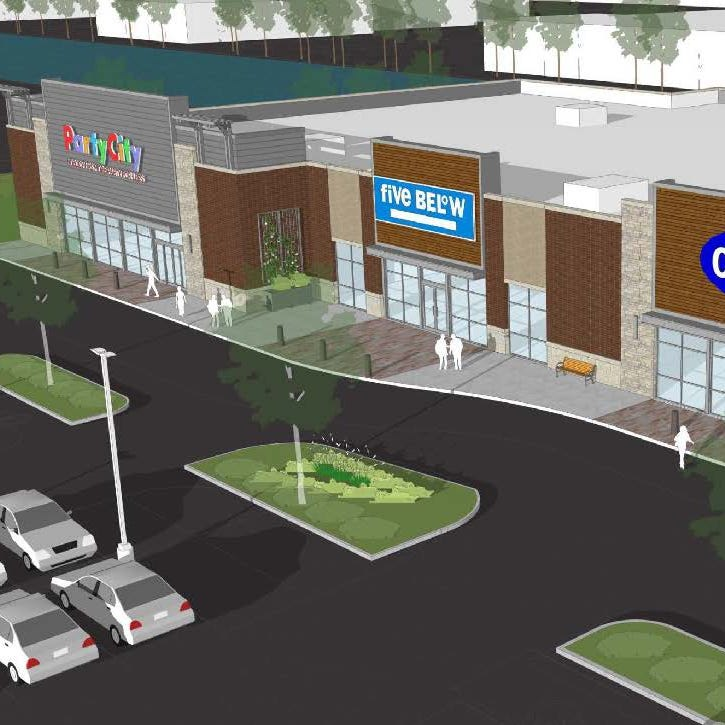 Old Navy, Party City and Five Below opening in new building at Brookfield's The Corridor this fall