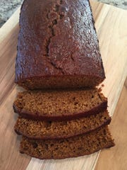 This pumpkin bread recipe makes three regular-size loaves or six small ones, which are easier for packing and mailing.