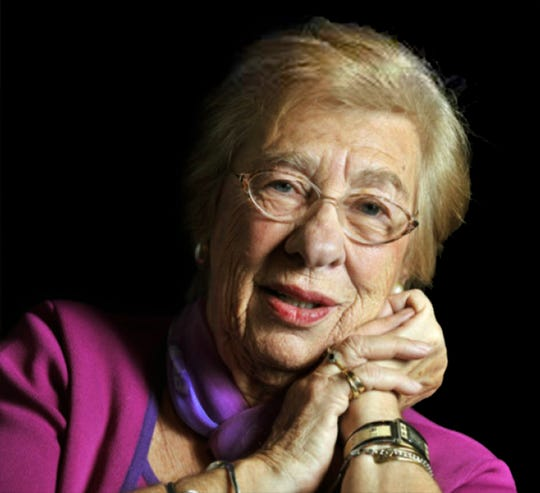 """Eva Schloss, a Holocaust survivor, peace activist, international speaker and the stepsister of Anne Frank, who wrote the book """"The Diary of Anne Frank."""""""