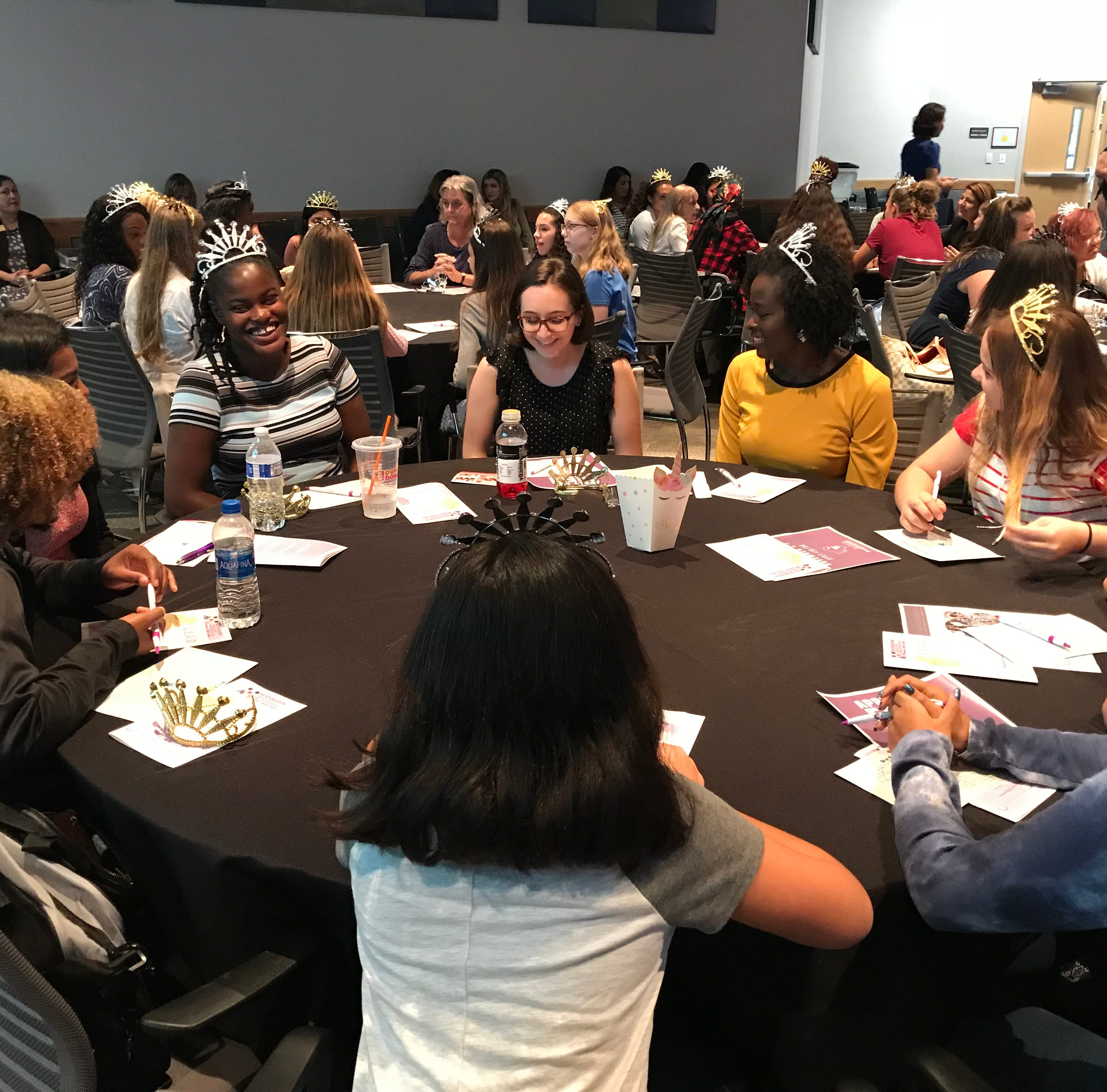 Symposium at FSW in Lee encourages teenage girls to express, empower themselves