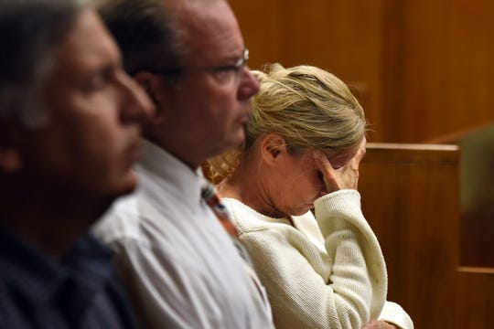 Jared Clackner, of Denville, is on trial in Bergen County Superior Court for killing his friend William Henning after a ZZ Top concert in 2015. Clackner is charged with aggravated manslaughter in the death of Henning. Family and friends of William Henning listen to the testimony of NJ State Trooper John Sousa on October 4, 2018. Sousa was one of the first to arrive on the scene on Rt 80W where Henning's deceased body was found in his car.