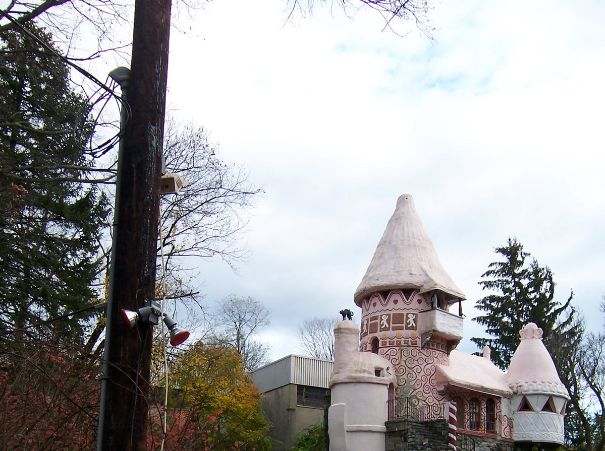 2006: The Gingerbread Castle in Hamburg.