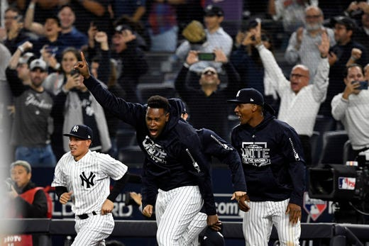 New York Yankees, Boston Red Sox ALDS schedule