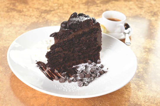 Big Fat Chocolate Cake at the Chit Chat Diner in West Orange