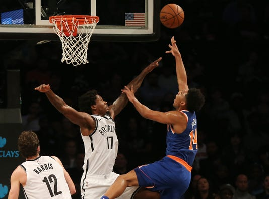 Nba Preseason New York Knicks At Brooklyn Nets
