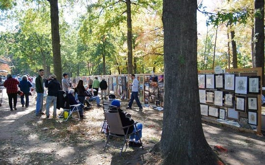 The 54th annual Bergen County Art in the Park show and concert will be held on Oct. 13 at Van Saun County Park in Paramus.