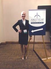Chiara D'Agostino attended an Association of American Cancer Institute/Cancer Center Administrators Forum conference in 2017.