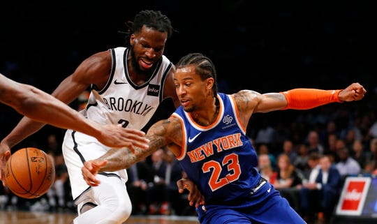Trey Burke is a candidate to start at point guard for the New York Knicks.