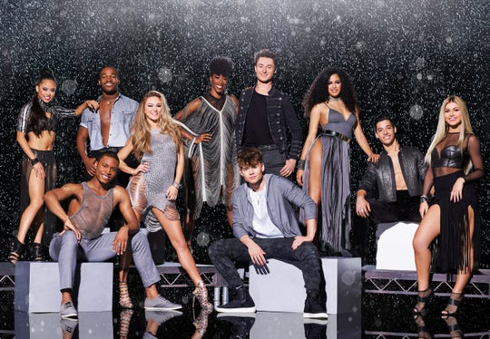 SO YOU THINK YOU CAN DANCE: Pictured top L-R: Hannahlei Cabanilla, Jay Jay Dixonbey, Chelsea Hough, Evan Debenedetto, Genessy Castillo and Cole Mills. Bottom L-R: Darius Hickman, Magdalena Fialek, Slavic Pustovoytov and Jensen Arnold. Top 10 contestants on SO YOU THINK YOU CAN DANCE airing Mondays (8:00-9:00 PM ET/PT) on FOX. ©2017 Fox Broadcasting Co. CR: Adam Rose/FOX