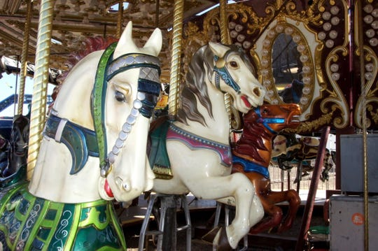 Carnival rides are up and running at the Southwestern New Mexico State Fair in Deming, NM.