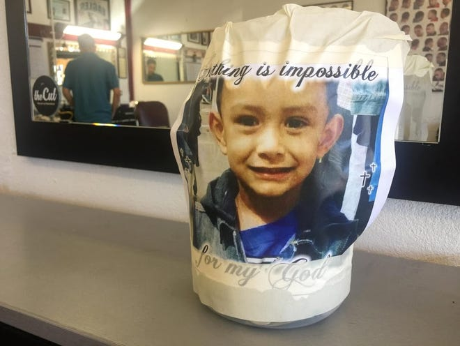 Good Life Barber Shop, 3213 S. Main St., will be raising funds Saturday, Oct. 6, for the family of Jeremiah Lopez, 5, who was struck by a pickup and lost his life.
