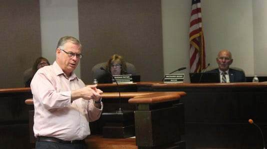 State Senator Daniel Ivey-Soto addresses City Commissioners