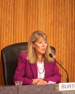 Current vice president Colleen Burton was the leading vote-getter in the Livonia Public Schools race Tuesday.