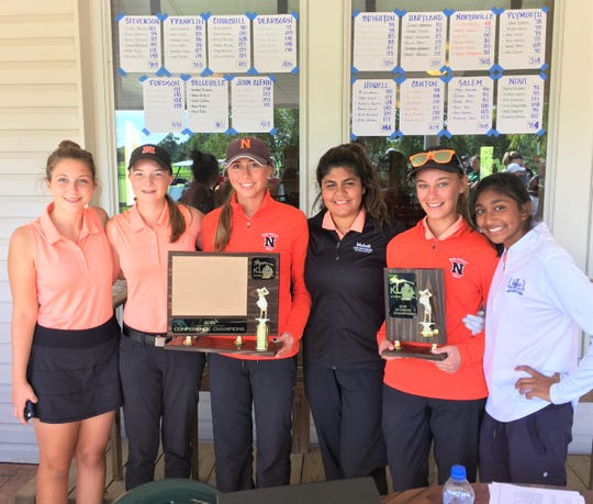 Northville earned its first KLAA girls golf tournament title since 2009.