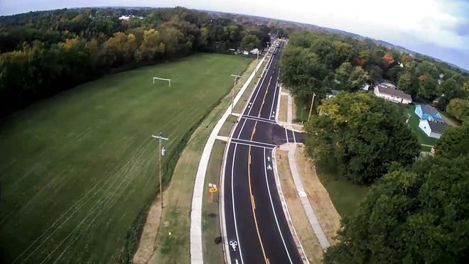 Construction finished on State 116