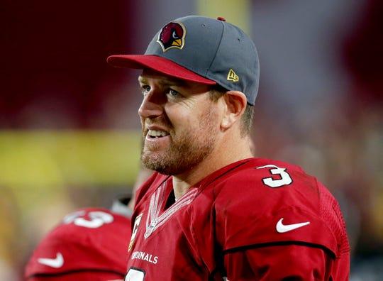 Arizona Cardinals quarterback Carson Palmer on Dec. 27, 2015.