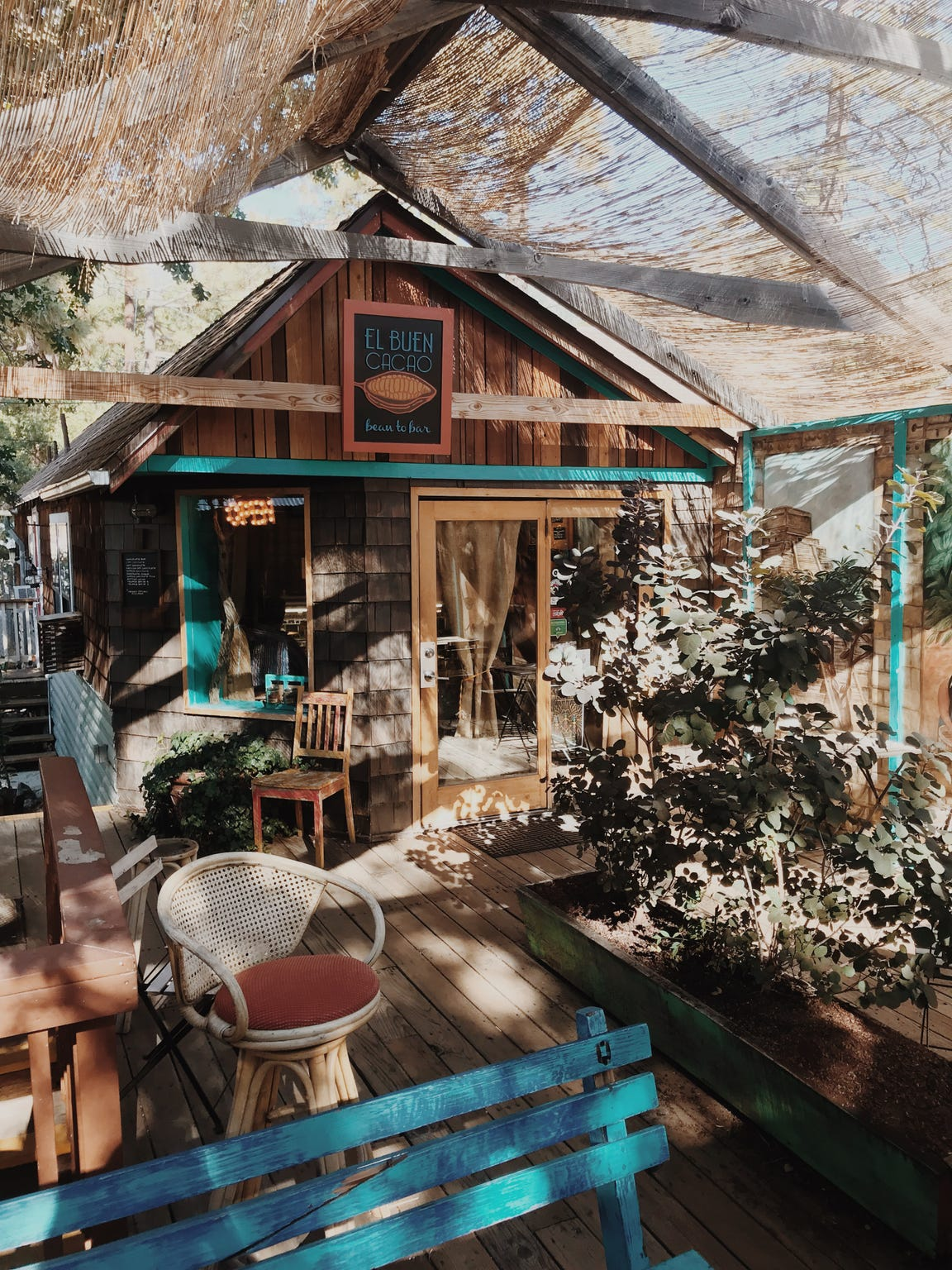 "At El Buen Cacao in Idyllwild, you can taste organic chocolate, ""bean to bar"" style."
