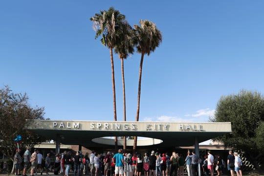 The Palm Springs City Council discussed possible increased compensation at its Wednesday evening meeting.